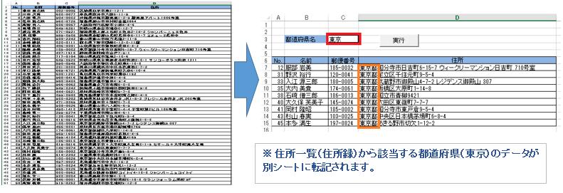 エクセル 条件 に 合う データ を 抽出